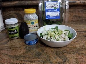 20131105_Wasabi Tuna Salad